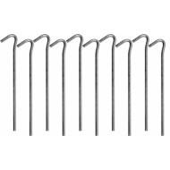 Metaliniai smeigtukai / kabliukai tento tvirtinimui | 180 mm | 10 vnt. (85185)